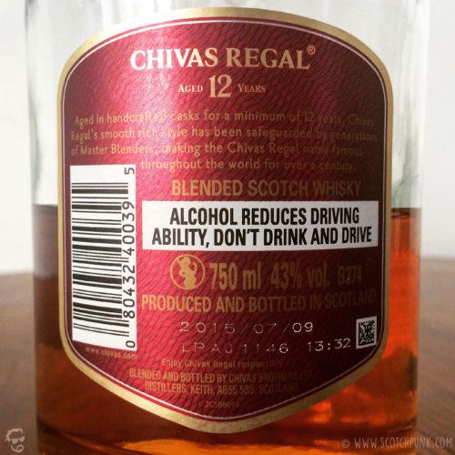 Review: Chivas Regal 12