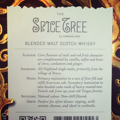 Review: Compass Box - The Spice Tree