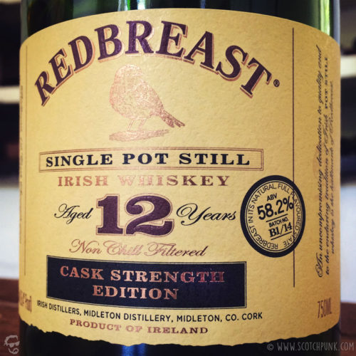 Review: Redbreast 12 Cask Strength