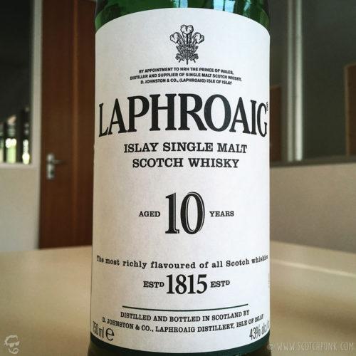 Review: Laphroaig 10