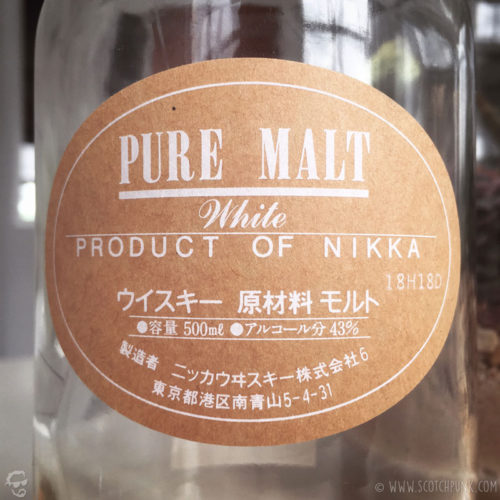Review: Nikka Pure Malt White