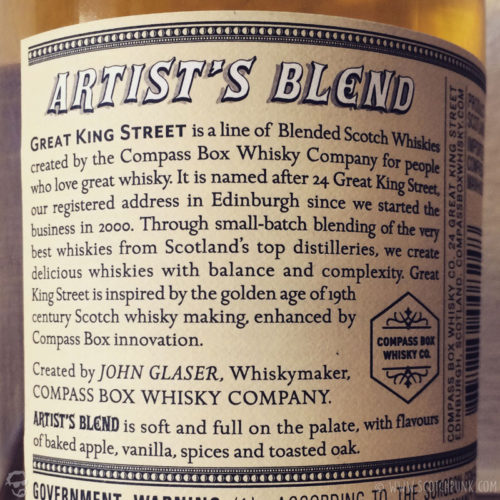 Review: Great King St - Artist's Blend