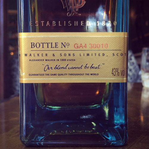 Review: Johnnie Walker Blue Label