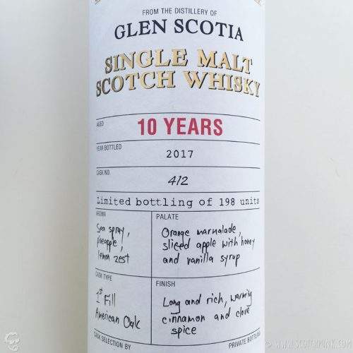Review: Glen Scotia 10