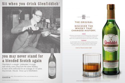 Glenfiddich Original Marketing