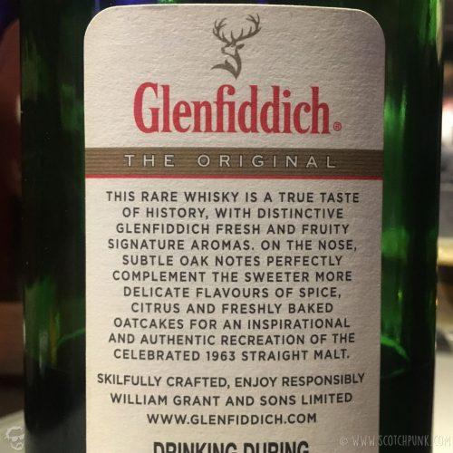 Review: Glenfiddich The Original