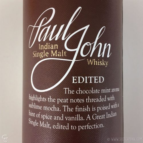 Review: Paul John Edited