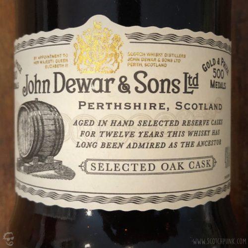 Review: Dewar's 12