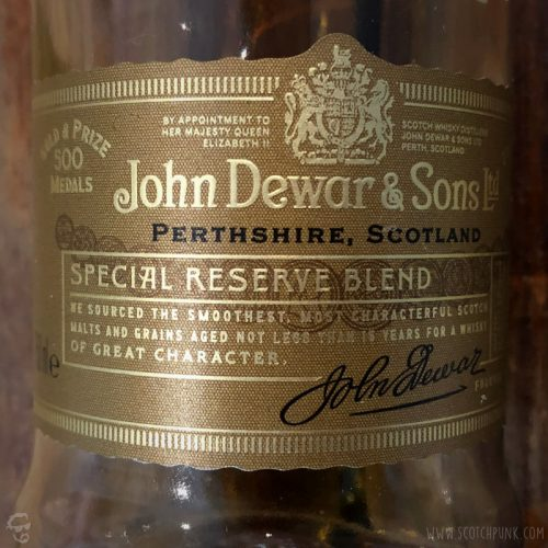 Review: Dewar's 15